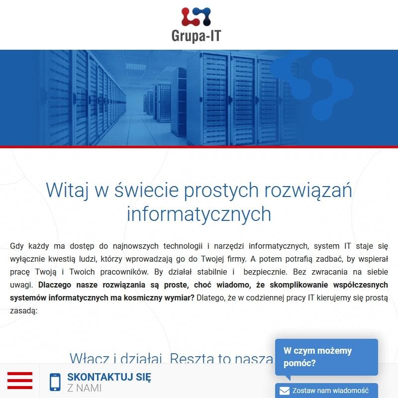Firmy informatyczne w Warszawie