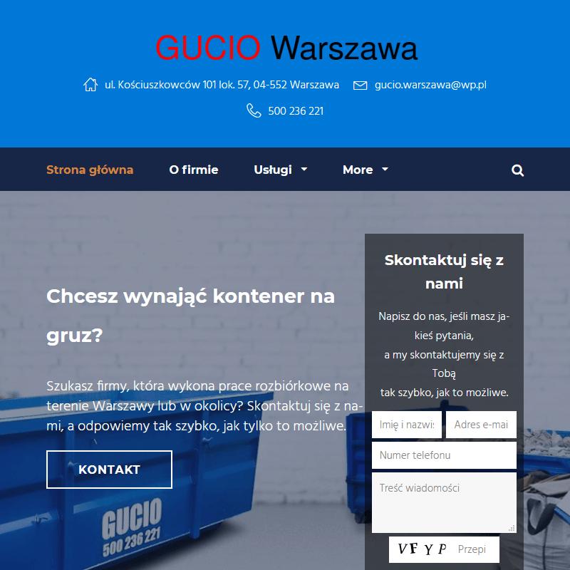 Prace rozbiórkowe Warszawa