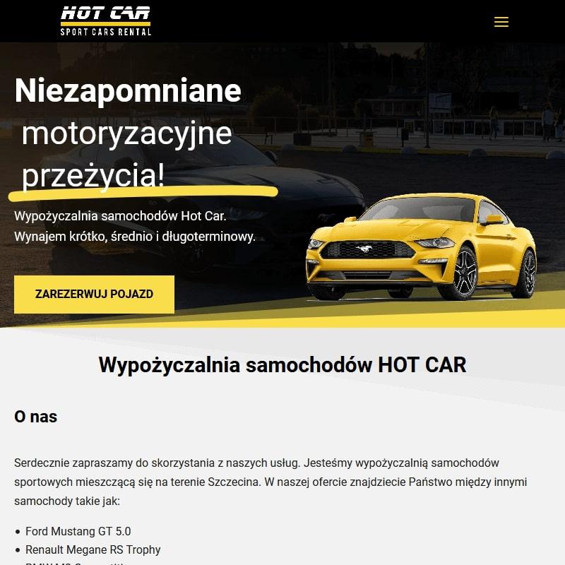Szczecin wypożyczalnia aut