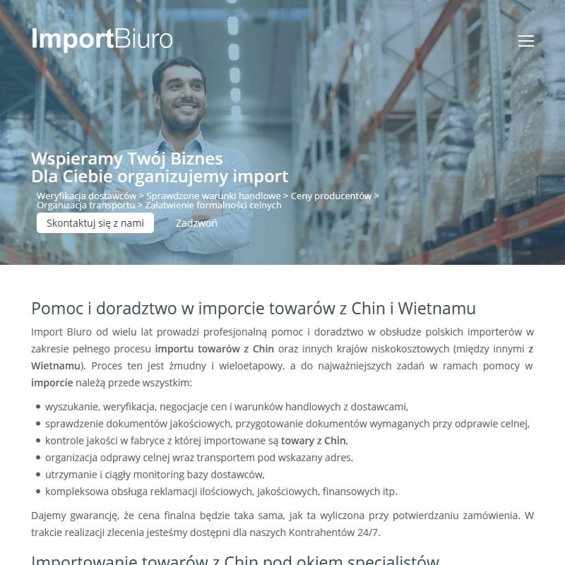 Importowanie towarów z wietnamu
