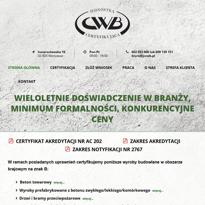 Cwb - Warszawa