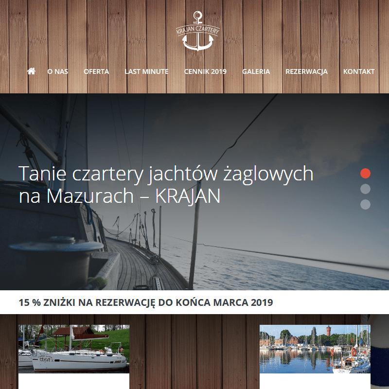 Wypożyczenie jachtu mazury - Giżycko