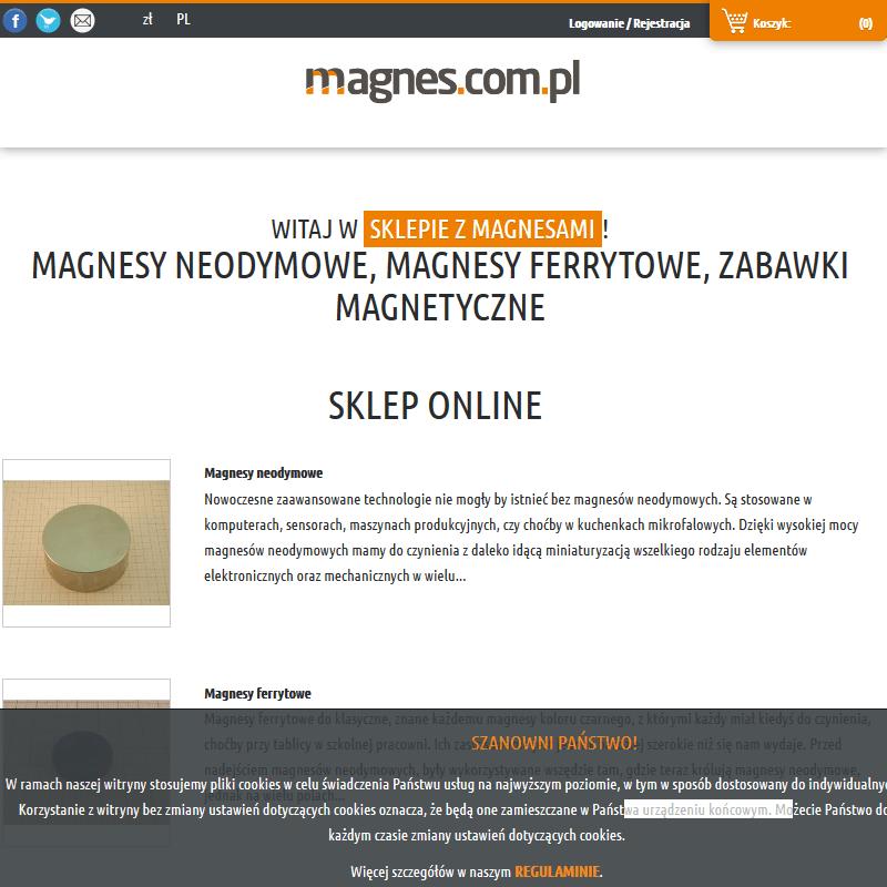 Warszawa - kolorowe magnesy