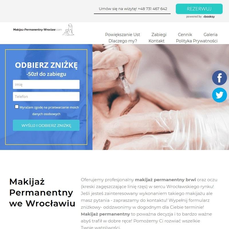 Usta permanentne Wrocław