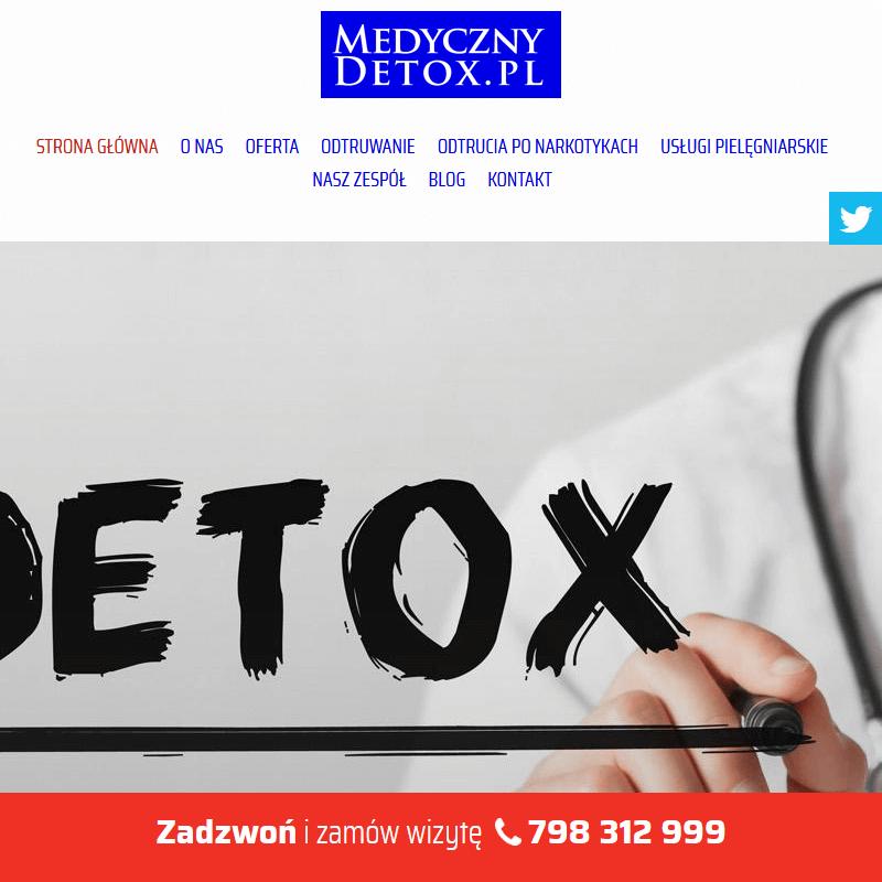 Domowy detoks alkoholowy - Warszawa