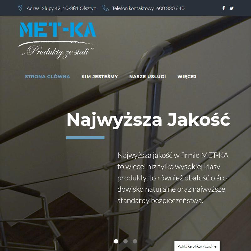 Balustrady w Olsztynie