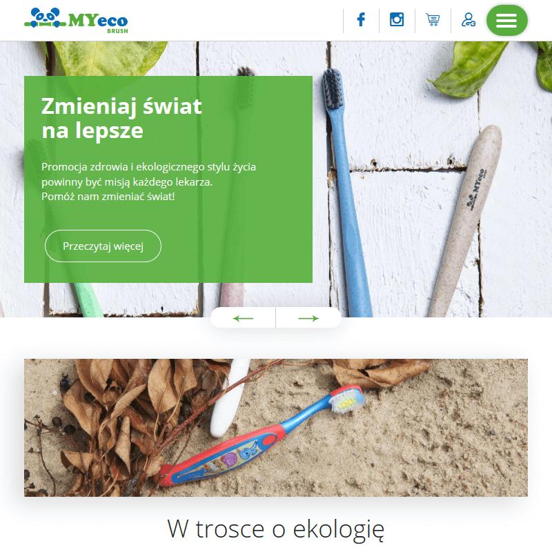 Naturalna szczoteczka do zębów - Warszawa