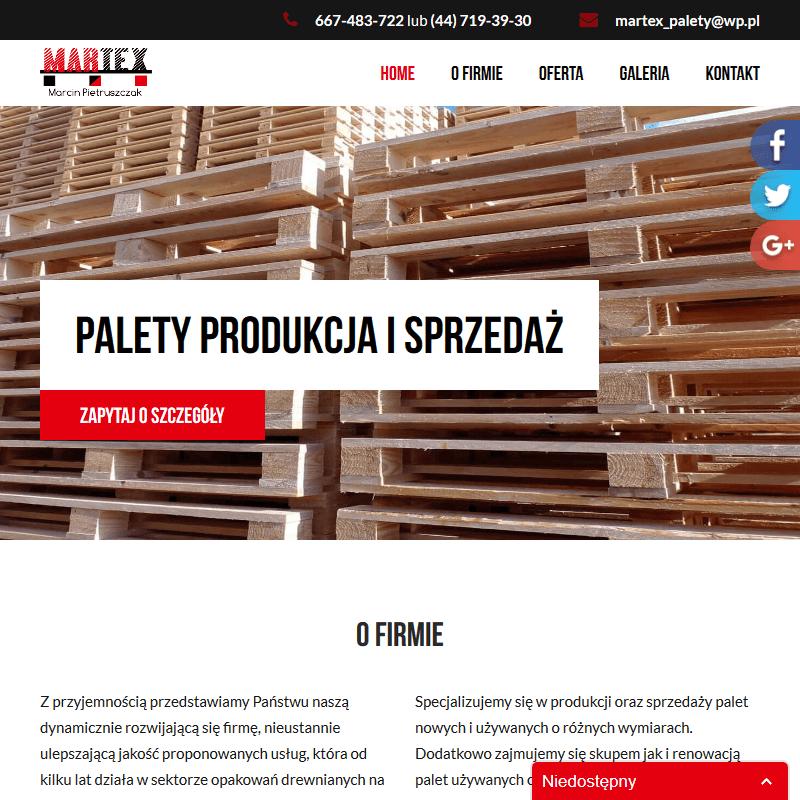 Palety 1200 x 800 w Wrocławiu