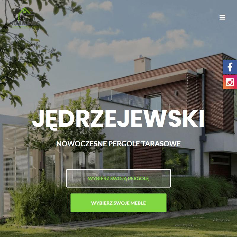 Poznań - zadaszenia pergole