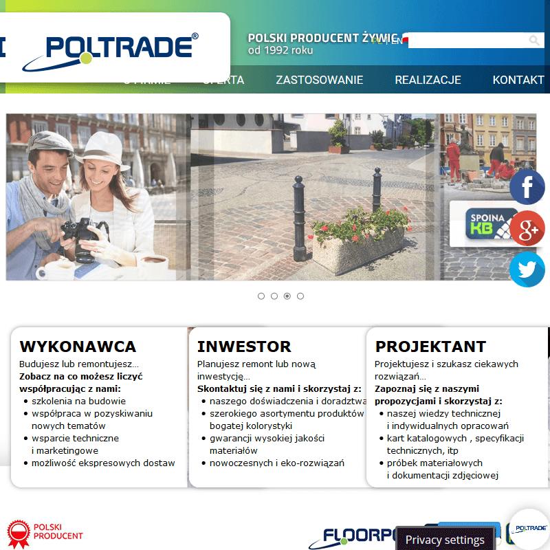Wrocław - kolorowy asfalt