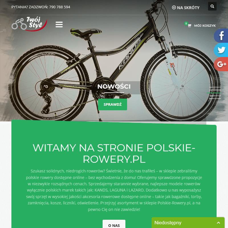 Wyprzedaże rowerowe online