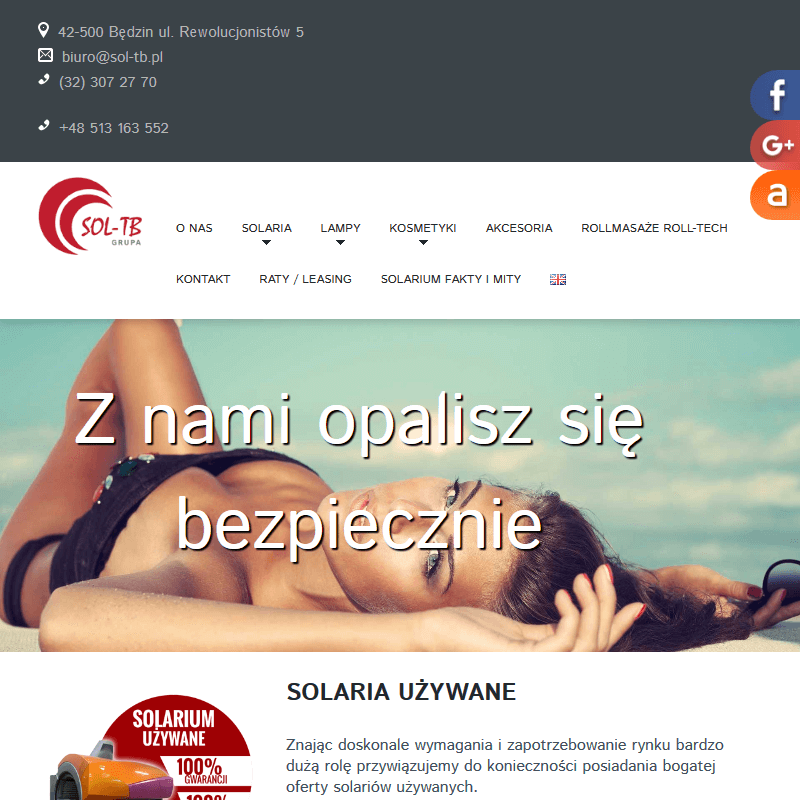 Katowice - solarium domowe nowe