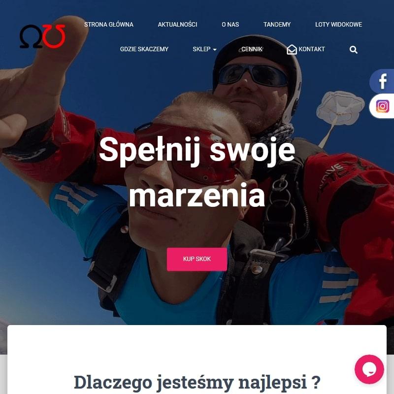 Skoki spadochronowe vouchery prezentowe - Gliwice
