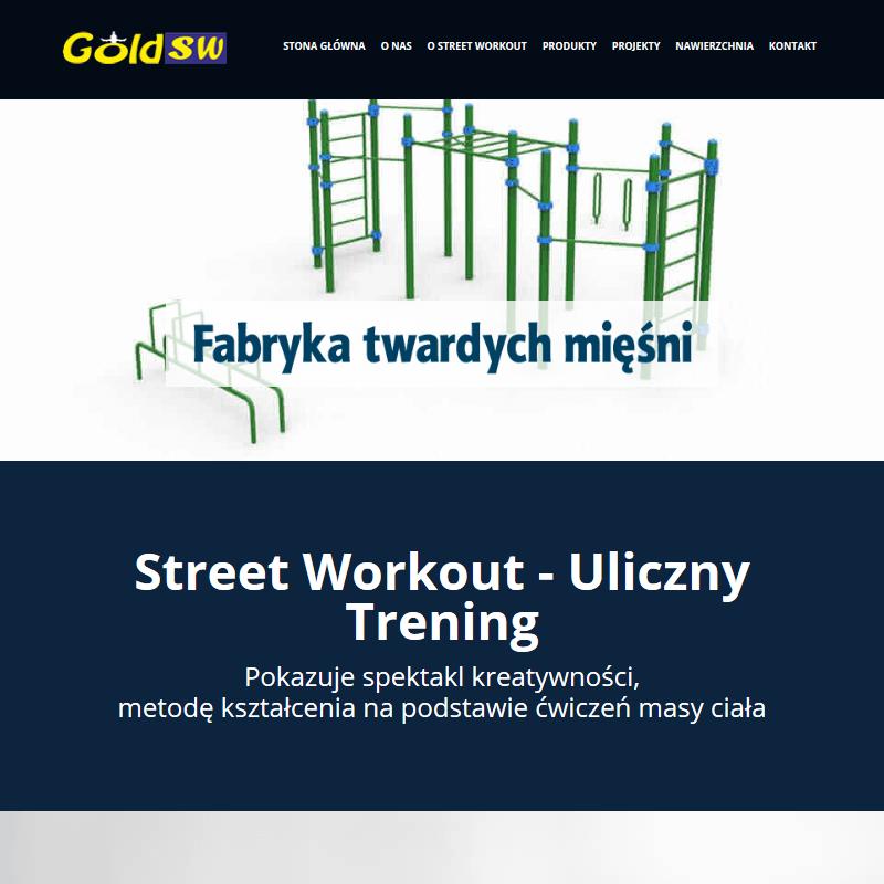 Siłownie zewnętrzne street workout