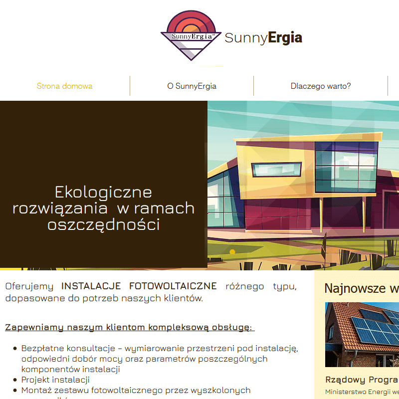 Instalacje fotowoltaiczne trójmiasto w Gdyni