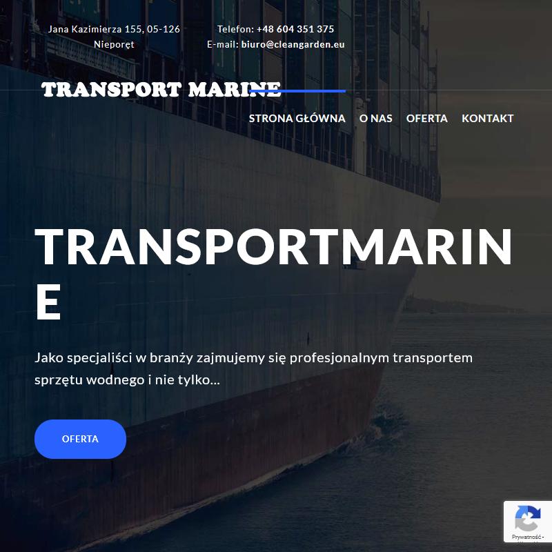 Warszawa - transport jachtów łódź