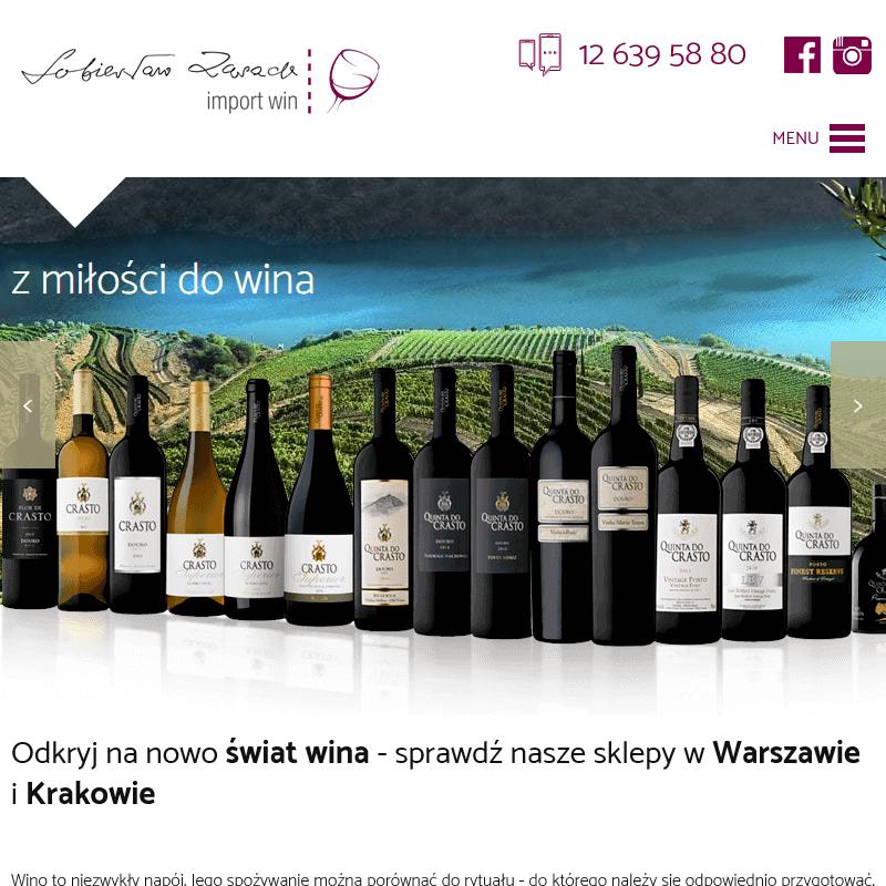 Wina włoskie sklep - Kraków